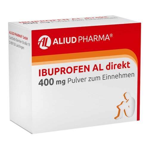 Ibuprofen AL direkt 400 mg Pulver zum Einnehmen - 1