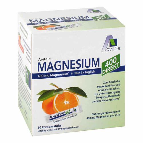 Magnesium 400 direkt Orange Portionssticks - 1