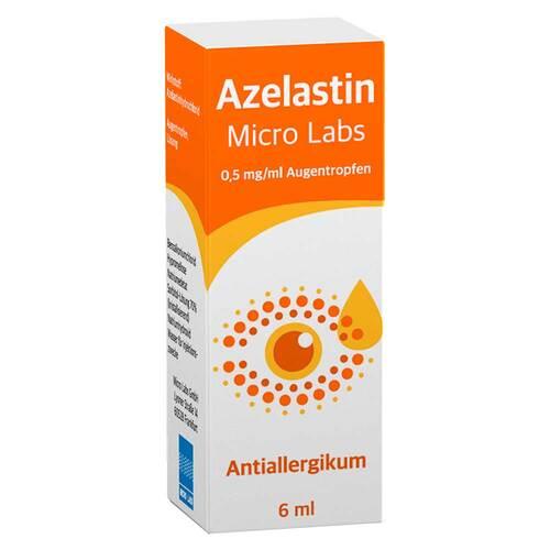 Azelastin Micro Labs 0,5 mg / ml Augentropfen - 1