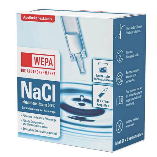 Wepa Inhalationslösung Nacl 0,9% - 1