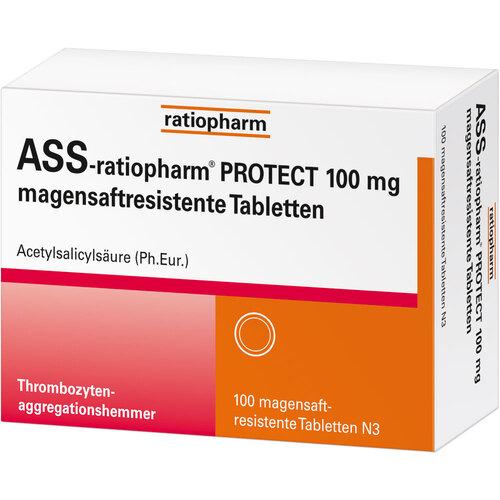 ASS-ratiopharm Protect 100 mg magensaftresistent Tabletten - 2