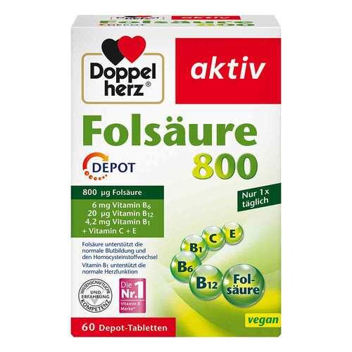 Doppelherz Folsäure 800 Depot Tabletten - 1