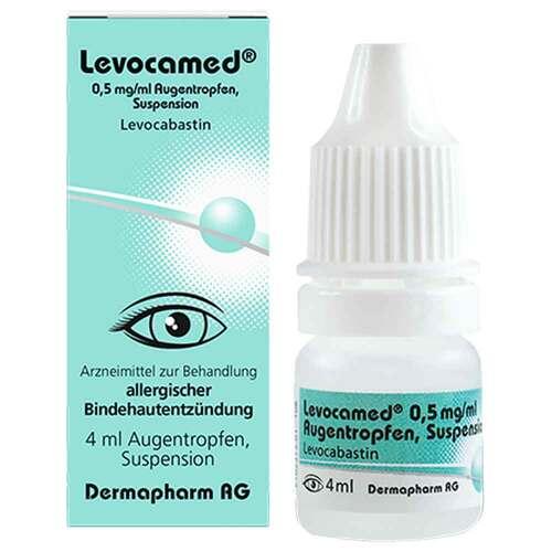 Levocamed 0,5 mg / ml Augentropfen Suspension - 1