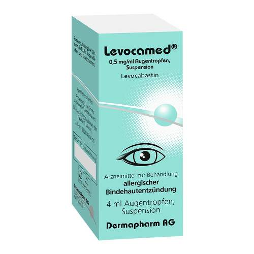 Levocamed 0,5 mg / ml Augentropfen Suspension - 2