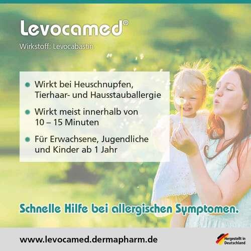 Levocamed 0,5 mg / ml Augentropfen Suspension - 3