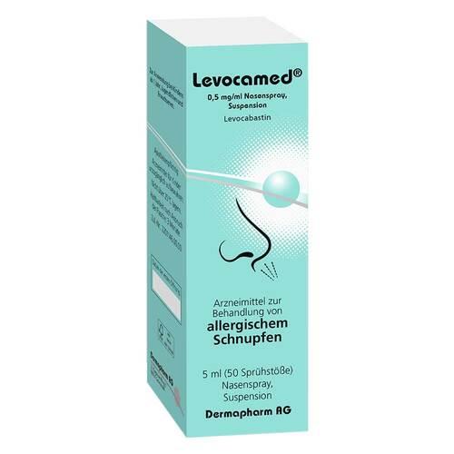 Levocamed 0,5 mg / ml Nasenspray Suspension - 2