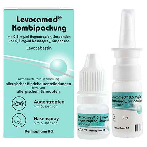 Levocamed Kombi 0,5 mg / ml AT + 0,5 mg / ml Nasenspray  - 1