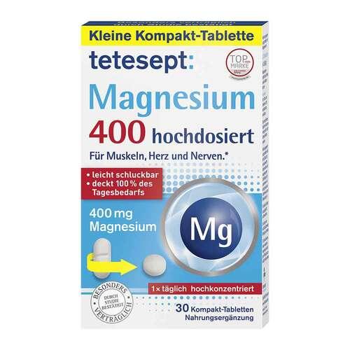 Tetesept Magnesium 400 hochdosiert Tabletten - 1