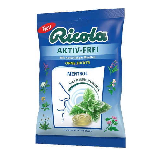 Ricola ohne Zucker Beutel Aktiv-Frei Bonbons - 1