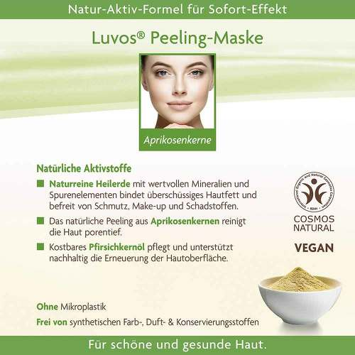 Luvos Heilerde Creme-Maske Peeling - 4