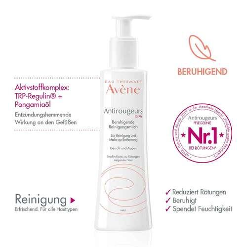 Avene Antirougeurs Clean beruhigende Reinigungsmilch - 3
