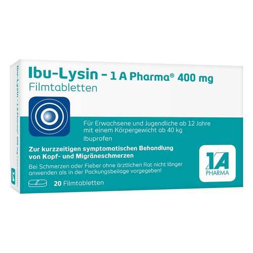 Ibu-Lysin - 1 A Pharma 400 mg Filmtabletten - 1