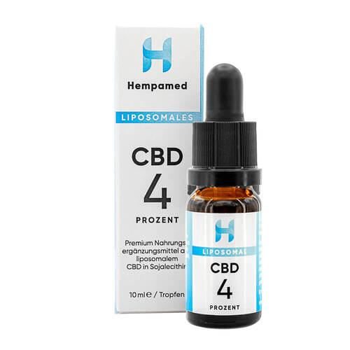 Cbd 4% liposomal Hempamed Tropfen - 1