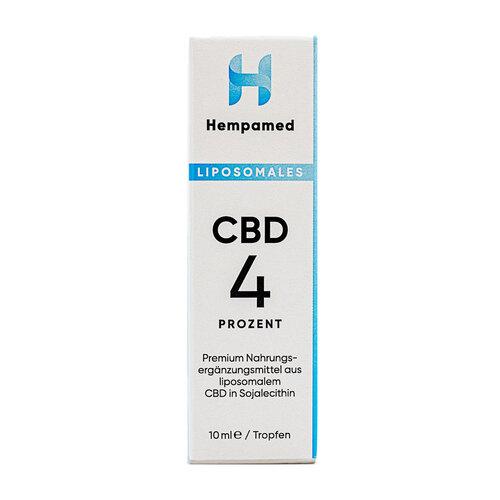 Cbd 4% liposomal Hempamed Tropfen - 2
