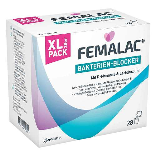 Femalac Bakterien-Blocker Pulver - 1