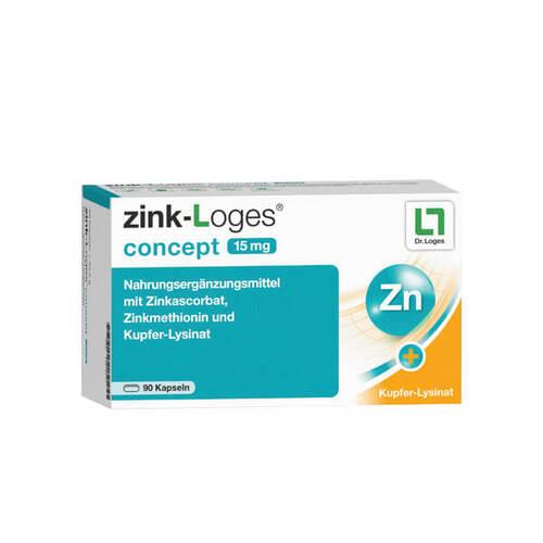 Zink-Loges concept 15 mg Kapseln - 1