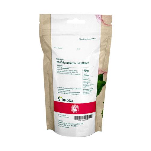 Sidroga Weißdornblätter mit Blüten Arzneitee lose - 2