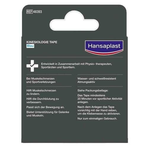 Hansaplast Sport Kinesiologie Tape 5 cmx5 m blau - 2