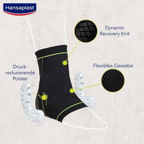 Hansaplast Sport Fußgelenk-Bandage Größe L/XL - 4