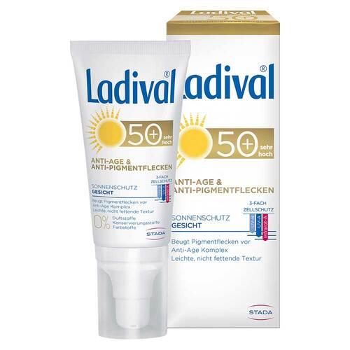 Ladival Sonnenschutz Gesicht Anti-Pigm. Creme LSF 50 +  - 1