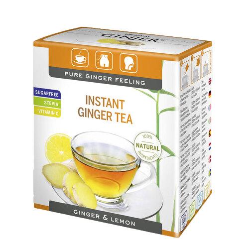 Ingwer Ginjer Instant Tee Zitrone - 1