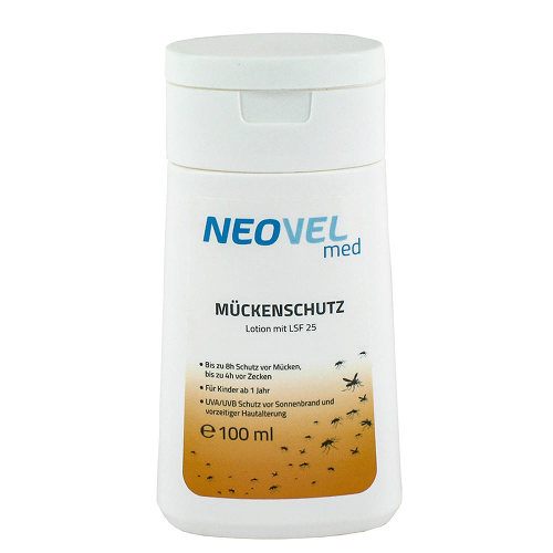 Neovel med Mückenschutz Lotion mit LSF 25 - 1