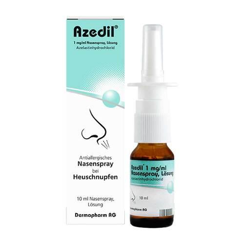 Azedil 1 mg / ml Nasenspray Lösung - 1