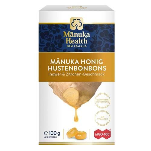 Manuka Health Mgo 400 + Lutschbonbons Ingwer-Zitrone - 1