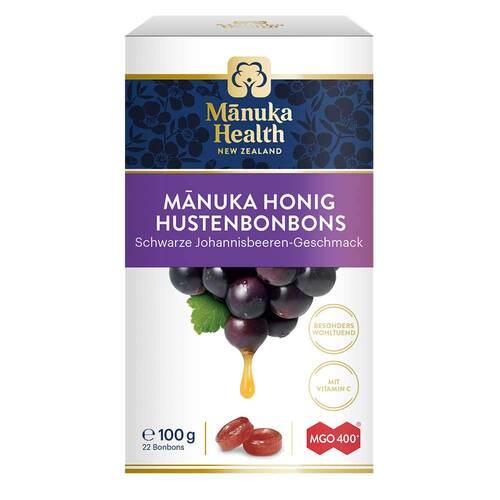 Manuka Health Mgo 400+ Lutschbonbons schwarze Johannisbeere - 1