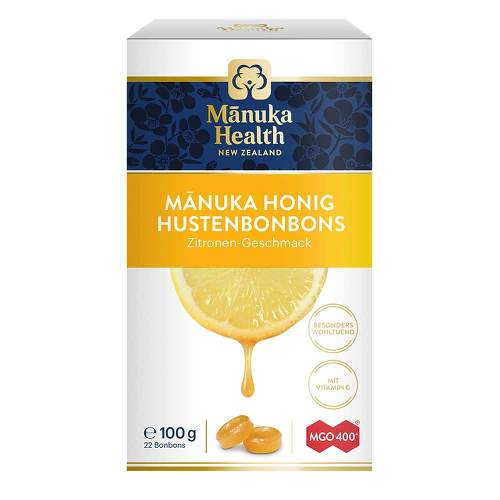 Manuka Health Mgo 400 + Lutschbonbons Zitrone - 1