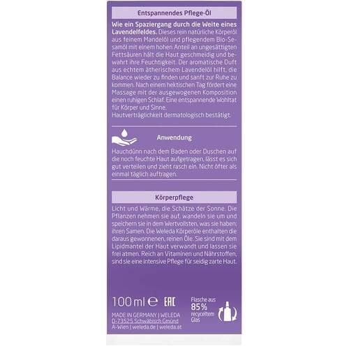 Weleda Lavendel entspannendes Pflege-Öl - 4