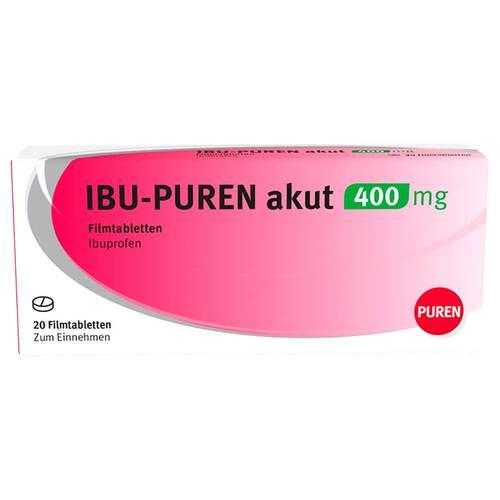 Ibu-Puren akut 400 mg Filmtabletten - 1