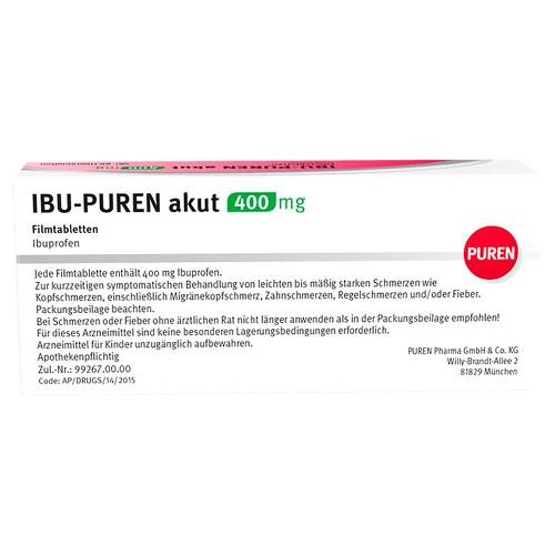 Ibu-Puren akut 400 mg Filmtabletten - 3