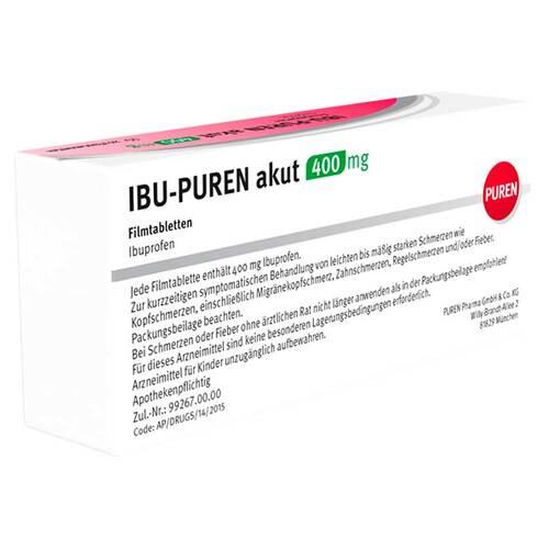 Ibu-Puren akut 400 mg Filmtabletten - 4