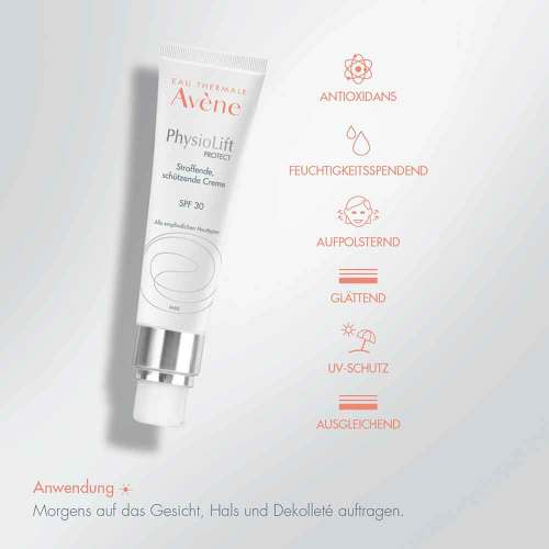 Avene Physiolift Protect straffende Creme SPF 30 - 3