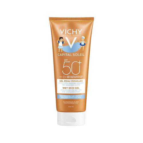 Vichy Capital Soleil Kinder Wet Gel-Milch LSF 50 +  - 1