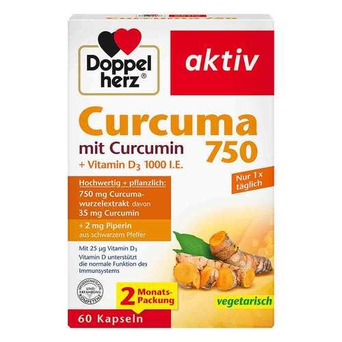 Doppelherz Curcuma 750 Kapseln - 1