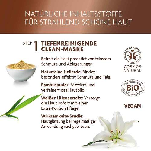 Luvos Heilerde Lifting Booster & Clean Maske 2 + 7,5ml - 3