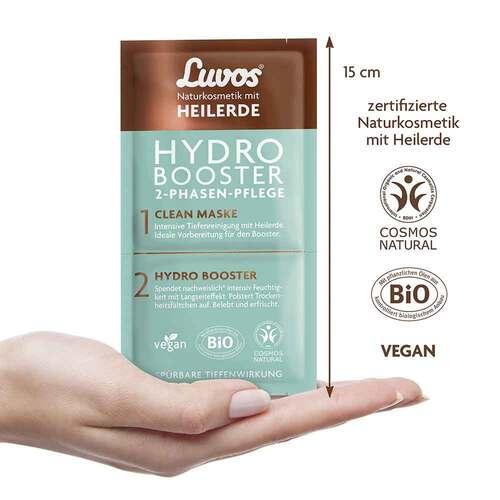 Luvos Heilerde Hydro Booster & Clean Maske 2 + 7,5ml - 2