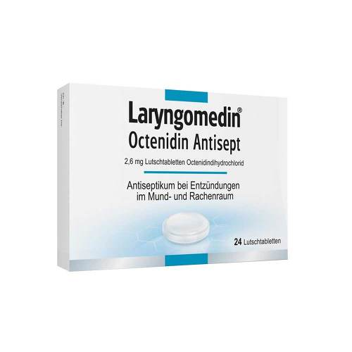 Laryngomedin Octenidin Antisept 2,6 mg Lutschtabletten  - 1