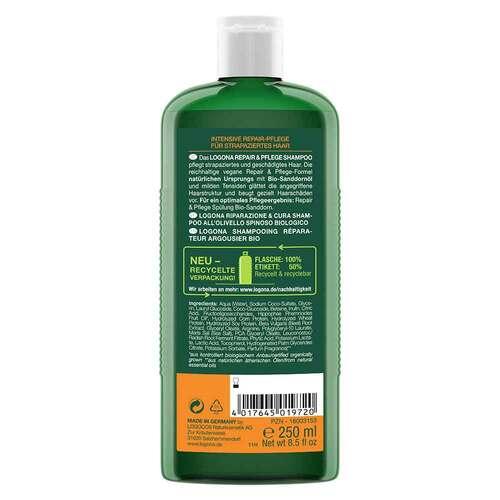 Logona Repair & Pflege Shampoo Bio-Sanddorn - 2