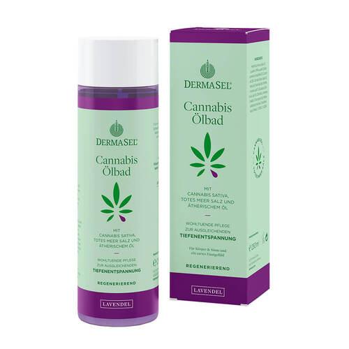 Dermasel Cannabis Ölbad Limited Edition Lavendel - 1