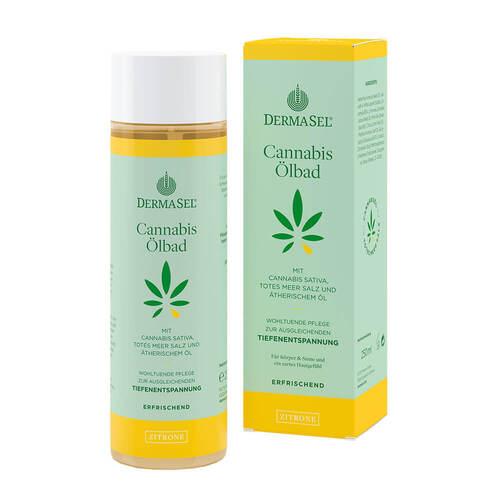 Dermasel Cannabis Ölbad Limited Edition Zitrone - 1