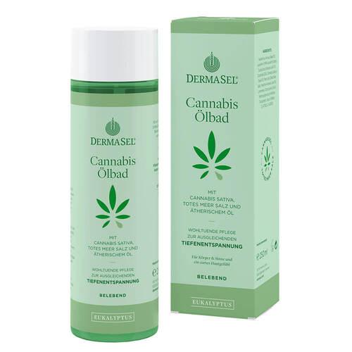 Dermasel Cannabis Ölbad Limited Edition Eukalyptus - 1