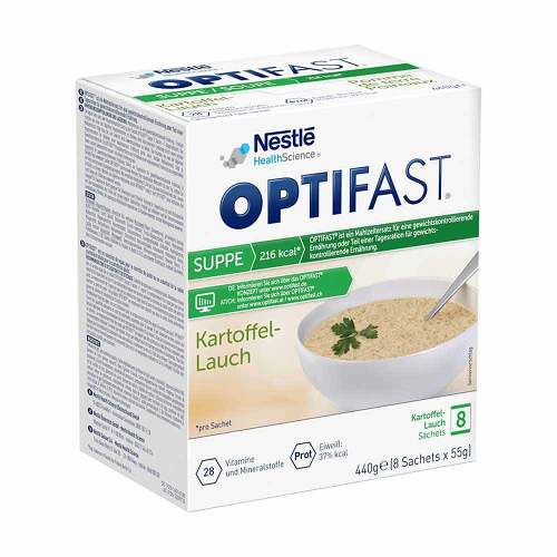 Optifast home Suppe Kartoffel-Lauch Pulver - 1