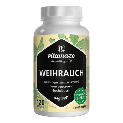 Weihrauch 900 mg hochdosiert vegan Kapseln - 1