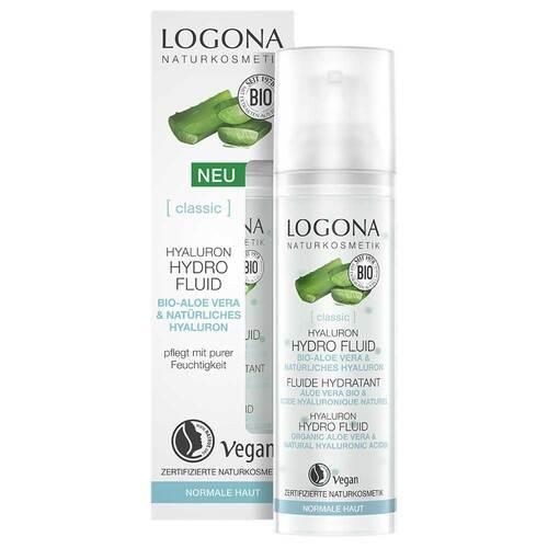 Logona Classic Hyaluron Hydro Fluid Bio-Aloe Vera & Hyaluron - 1