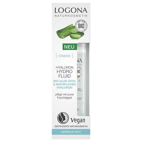 Logona Classic Hyaluron Hydro Fluid Bio-Aloe Vera & Hyaluron - 4