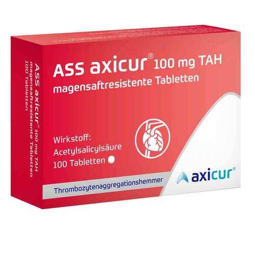 ASS axicur 100 mg TAH magensaftresistent Tabletten - 1