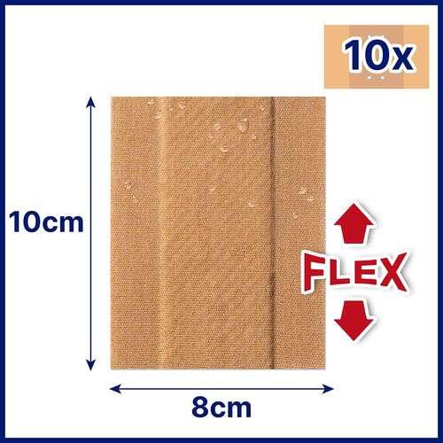 Hansaplast Elastic Pflaster 8 cmx1 m - 4